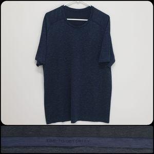 Lululemon Blue & Green Tee Short Sleeve